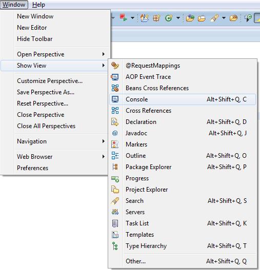 Przywracanie zamkniętych okien - menu Window