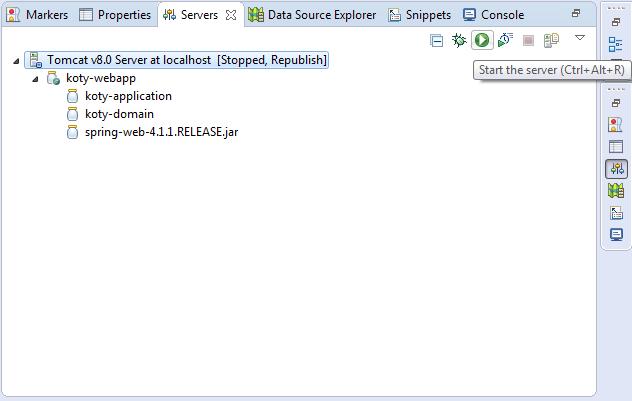 Szybki podgląd aplikacji uruchomionych na serwerze